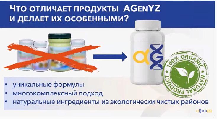 AGenYZ - защита иммунитета